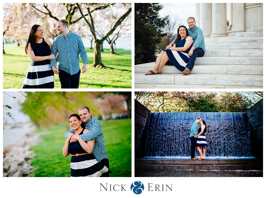 Cherry Blossom Engagement