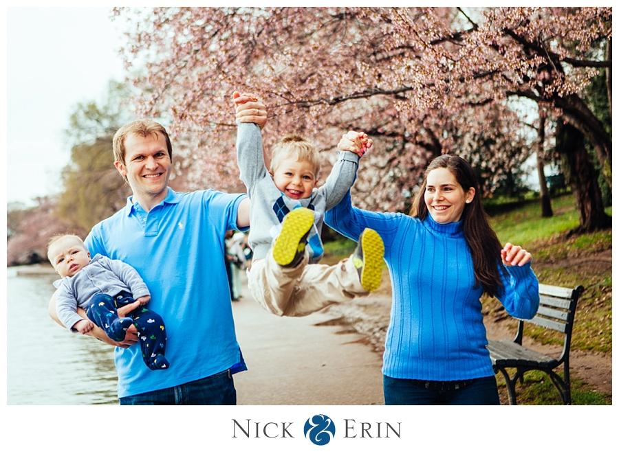 Cherry Blossom Family Portrait