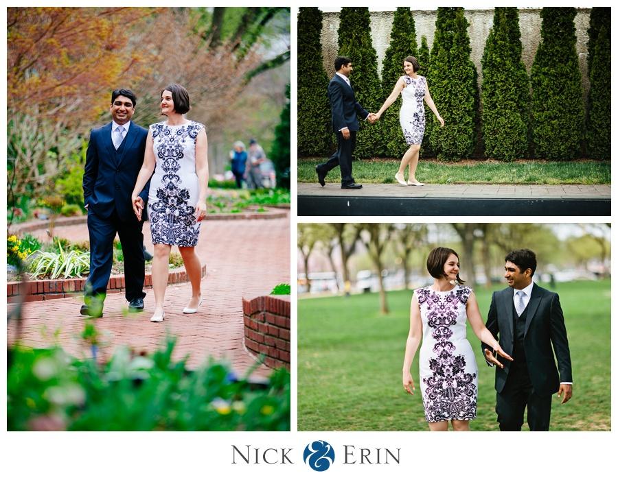 Smithsonian Gardens Wedding
