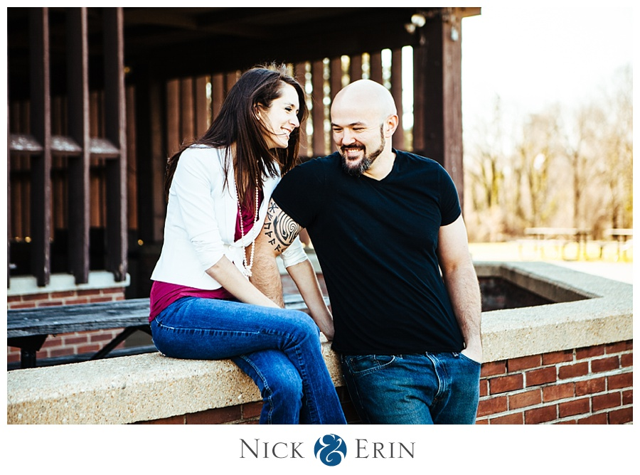 Engagement Photo Fort Hunt