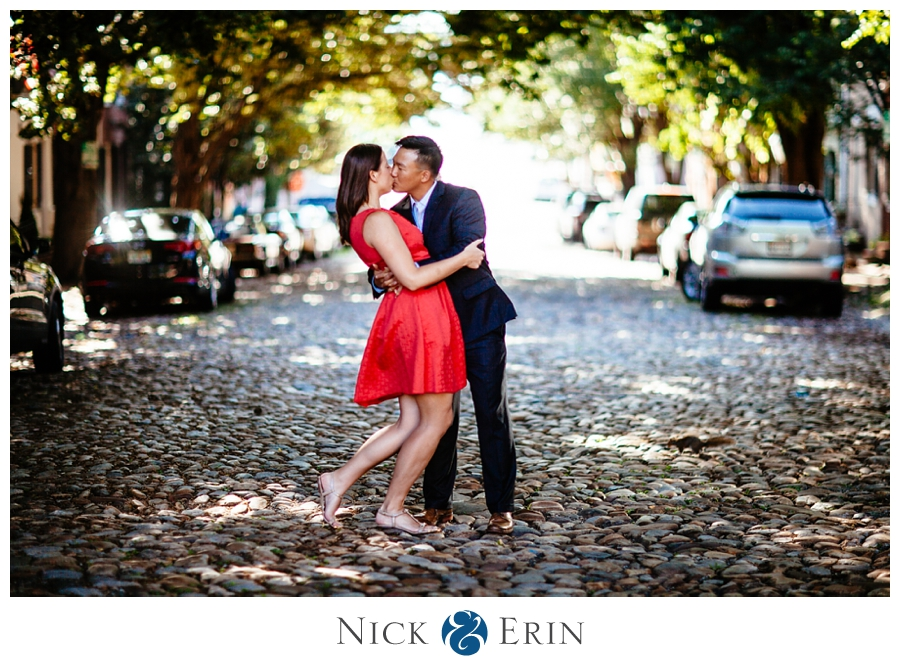 Old Town Alexandria Engagement