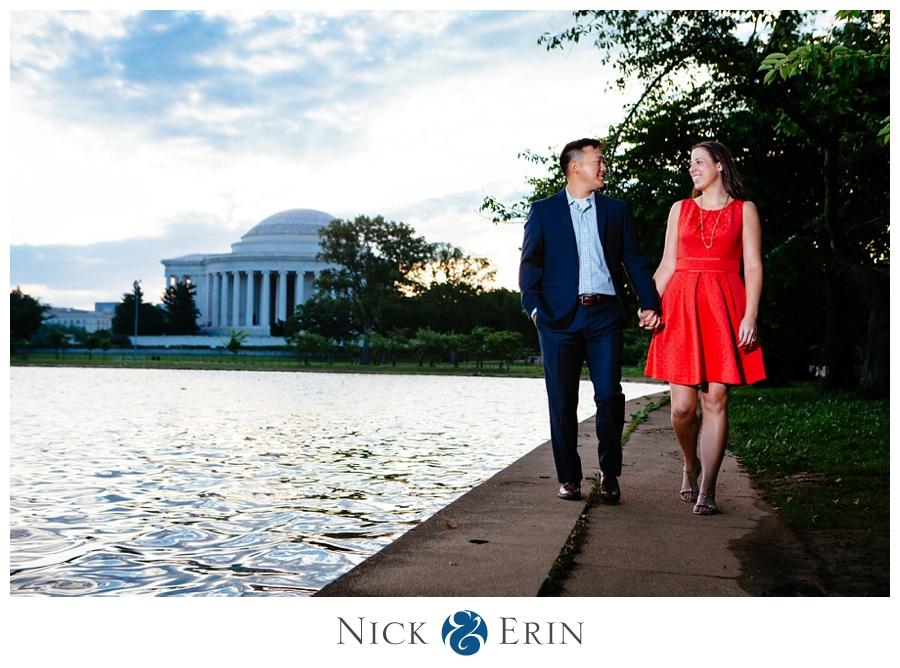 Jefferson Memorial Engagement