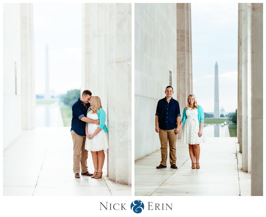 Lincoln Memorial Engagement