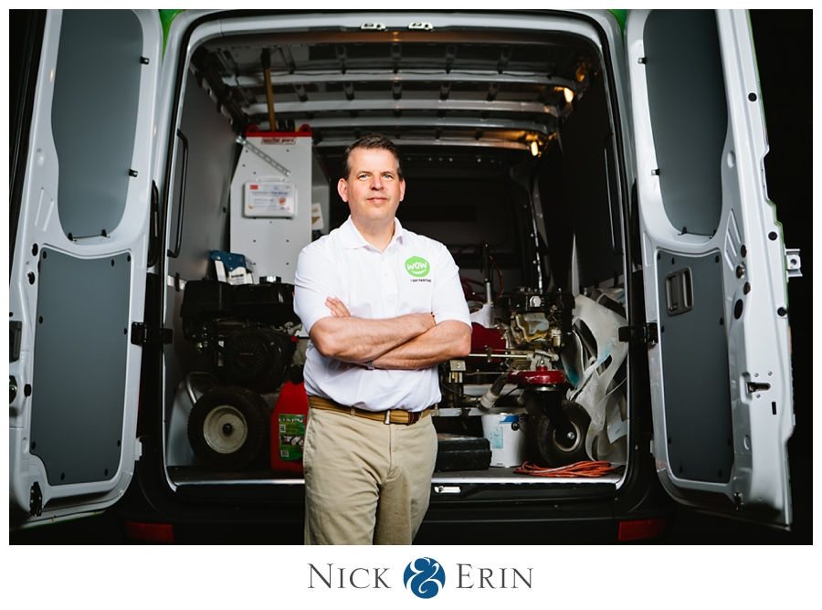 Portrait of an entrepreneur