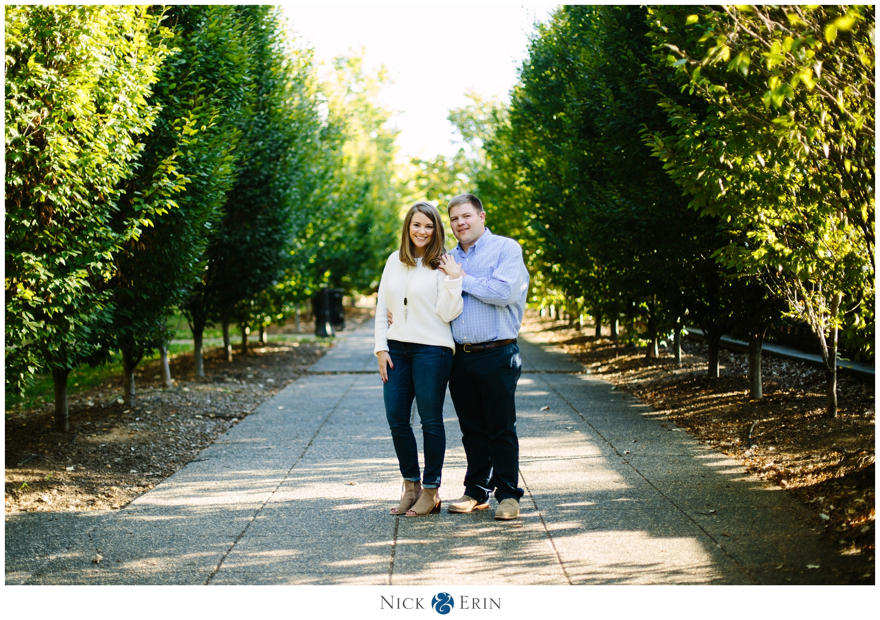 WASHINGTON DC ENGAGEMENT: RACHEL & CAP