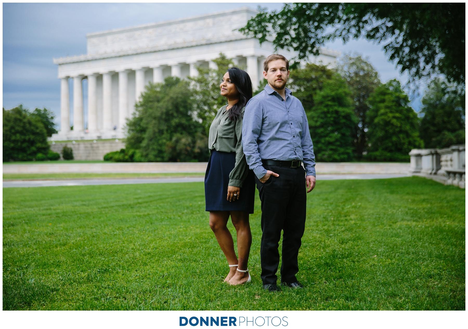 WASHINGTON DC ENGAGEMENT: LINDSEY & LEE