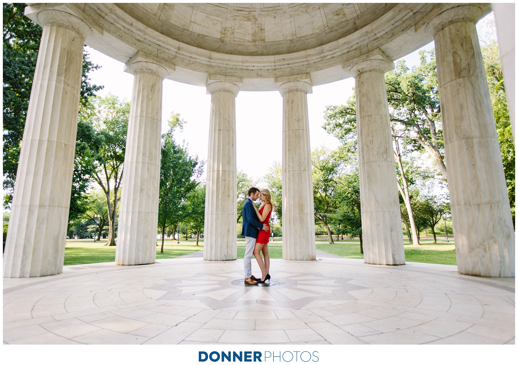 WASHINGTON DC ENGAGEMENT: ALI & JOSH