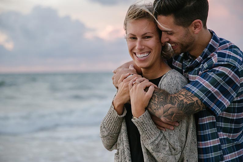 HOLLYWOOD BEACH PROPOSAL: JAMIE & MORGAN
